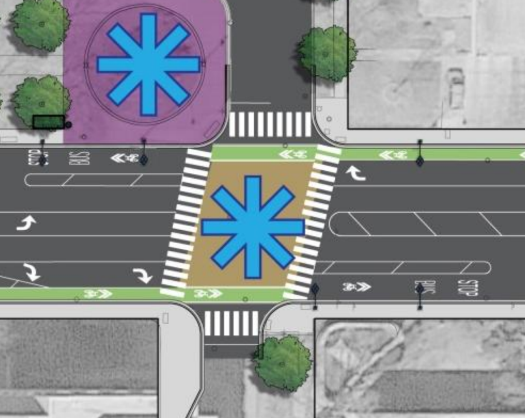 CDOT proposed design 55th and University